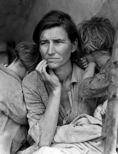 Migrant Mother by Dorothea Lange, 1936