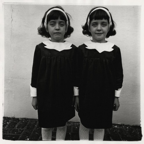 Diane Arbus identical twins roselle new jersey ,1967