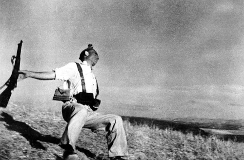Falling Soldier by Robert Capa, 1936
