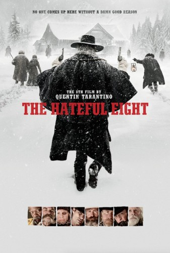 "Poster for the movie ""The Hateful Eight"""