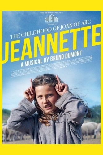 "Poster for the movie ""Jeannette: The Childhood of Joan of Arc"""
